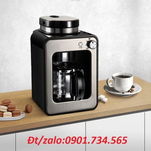 Bảng giá Máy pha cà phê Gotech - Tự động xay và pha cà phê hạt, cà phê bột - máy làm từ thép không gỉ Điện máy Pico