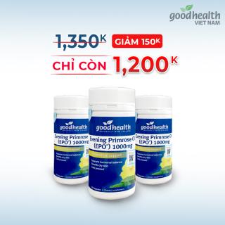 COMBO 3 HỘP _Tinh dầu hoa anh thảo Goodhealth 70v cân bằng Hoocmon Estrogen nội tiết _ nhập khẩu chính hãng New Zeland thumbnail