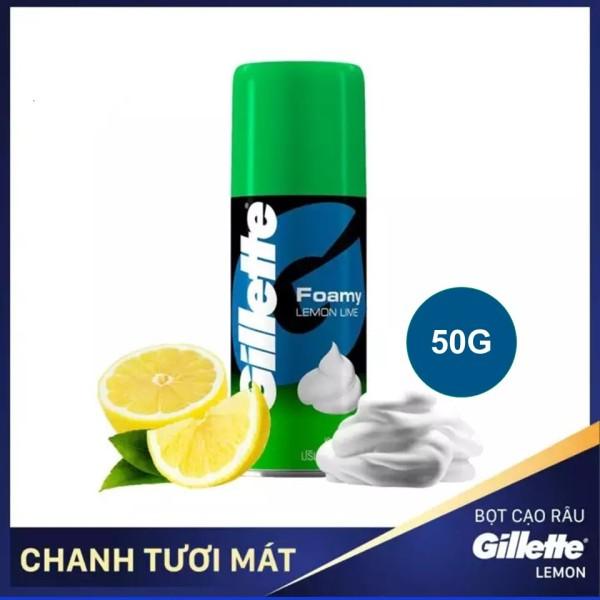 Bọt cạo râu Gillette Hương Chanh 50g