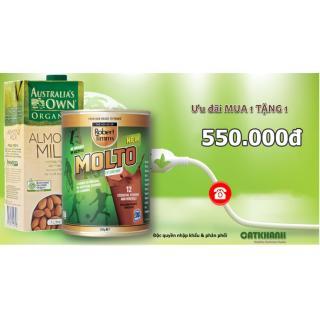 Sữa bột Canxi ca cao Robert Timms Molto Australia 450g giúp tăng trưởng chiều cao, bổ sung Canxi 3