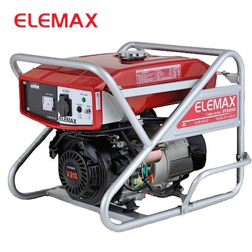 Máy Phát Điện Chạy Xăng 5KVA Elemax SV6500