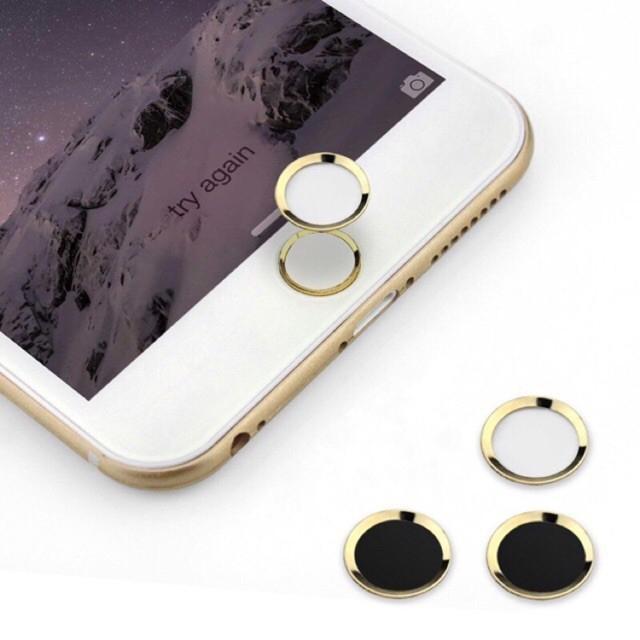 Nút home tăng cảm biến vân tay cho iPhone