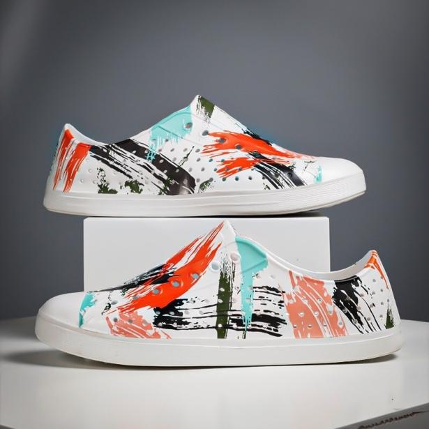 Giày nhựa WNC NATlVE đi mưa, đi biển, du lịch - Giày nam nữ có nhiều màu đẹp giá rẻ