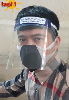 Tấm nhựa chắn giọt bắn chắn virus corona ( combo 3 chiếc) thumbnail