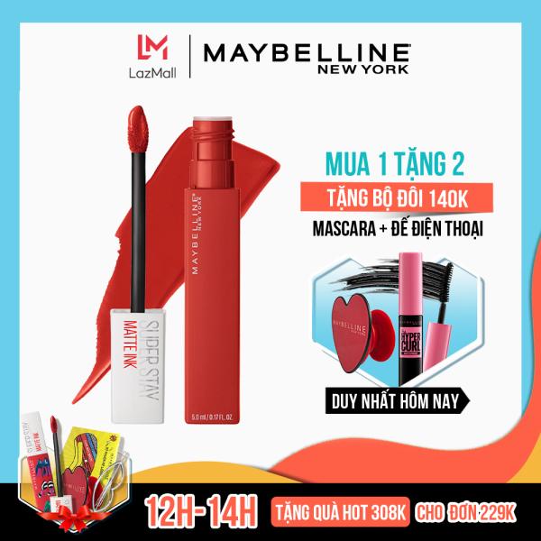 Son Kem Lì 16h Lâu Trôi Maybelline New York Super Stay Matte Ink Lipstick 5ml cao cấp