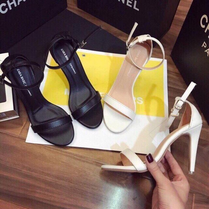 Giày cao gót nữ 7 phân ngọc trinh gót nhọn giá rẻ