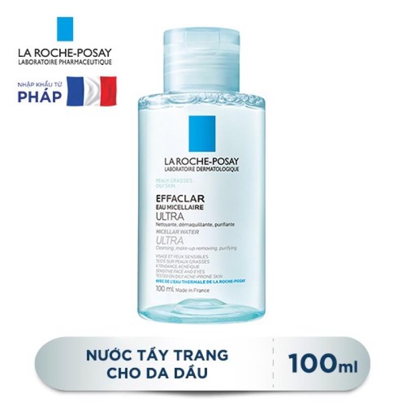 Nước Tẩy Trang Giàu Khoáng Làm Sạch Sâu Dành Cho Da Dầu La Roche-Posay Effaclar Micellar Water Ultra Oily Skin 100ml - 200ml - 400ml