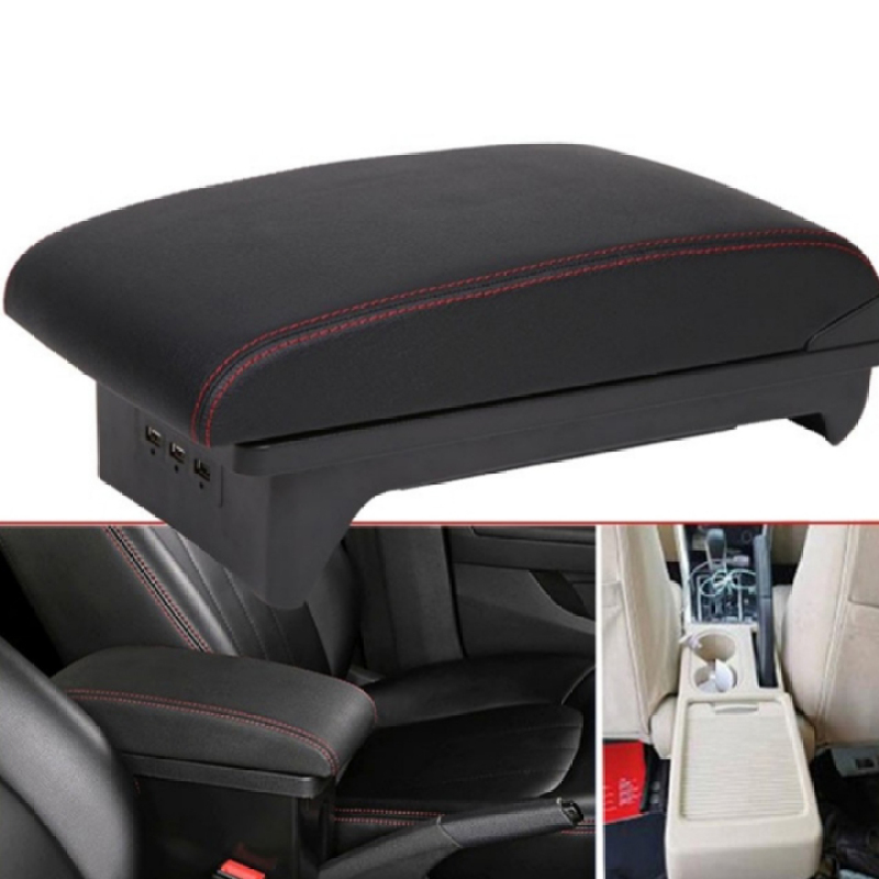 Hộp tỳ tay dùng cho xe ô tô, xe hơi Mitsubishi Xpander cao cấp tích hợp 3 cổng USB XPD NK-Nhà Buôn Đồ Chơi Xe Hơi