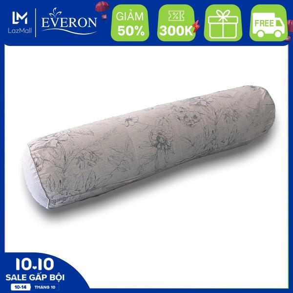Vỏ Gối Ôm MicroTencel In Hoa  K-Bedding by Everon KMTP105 - Chăn ga Hàn Quốc