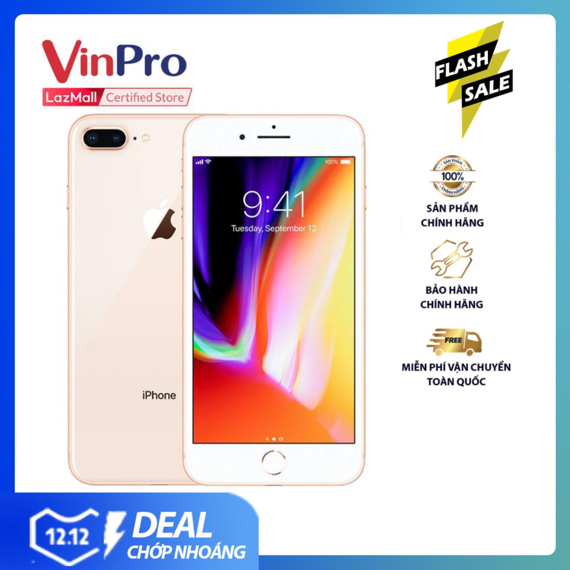 Mã Khuyến Mại Điện Thoại Iphone 8 Plus 64GB Vàng VN/A - Hàng Chính Hãng - Màn Hình Full HD 5.5 Inch, Chipset 6 Nhân, Thiết Kế Sang Trọng