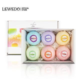 LEWEDO Bath Bombs Relaxing Moisturizing 6PCS Handmade Bubble Bath Ball thumbnail
