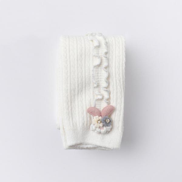 Giá bán Quần tất, legging len dày REN SỌC DỌC cao cấp phong cách Hàn QUốc cho bé gái QLTE04