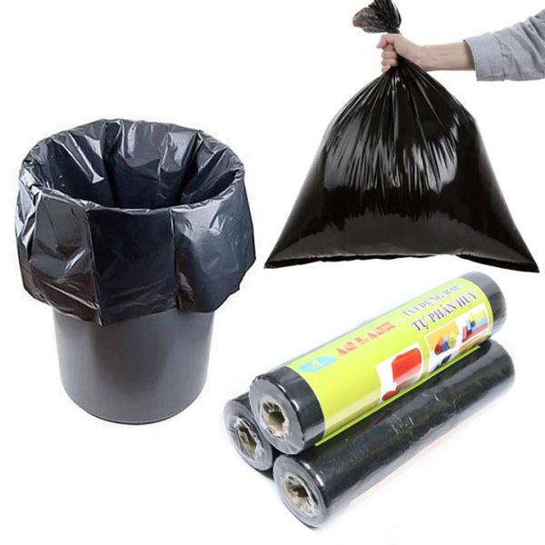 Túi đựng rác tự phân hủy An Lành an toàn bảo vệ môi trường có nhiều kích thước krs