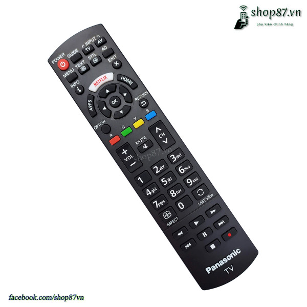 Bảng giá Điều khiển tv Panasonic smart Netflix chính hãng N2QAYB