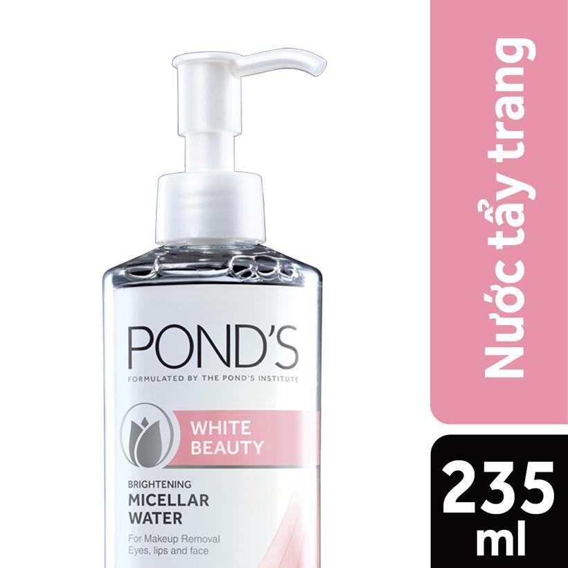 Nước Tẩy Trang Làm Sáng Da Ponds White Beauty Brightening Micellar Water (235ml) tốt nhất