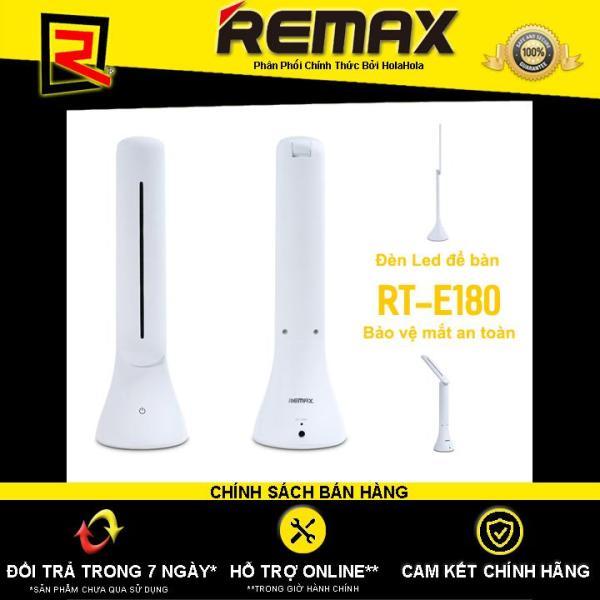 Đèn led để bàn Remax RT-E180 bảo vệ mắt - Hãng Phân Phối Chính Thức