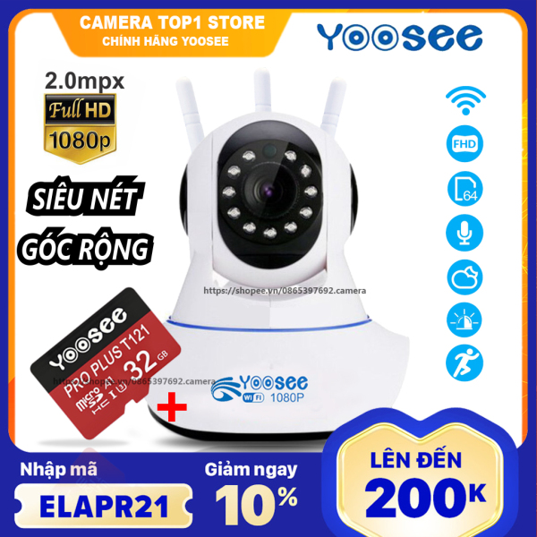 Camera Ip Yoosee fullhd 1080p 2.0mpx Xoay 360 Hồng Ngoại Xem Đêm sản phẩm đang được săn đón chất lượng đảm bảo và cam kết hàng đúng như mô tả