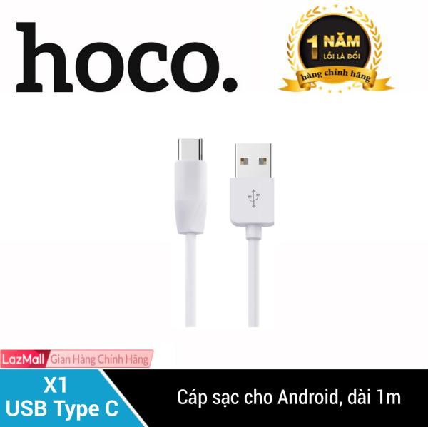 Cáp sạc USB Type-C Hoco X1 dài 1M cho điện thoại SAMSUNG/HUAWEI/LG