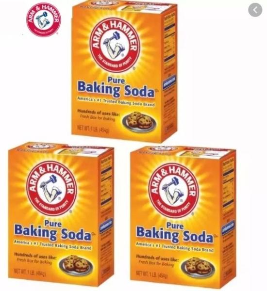 [ Combo 3 hộp ] Bột baking soda đa công dụng 454g - Mỹ giá rẻ
