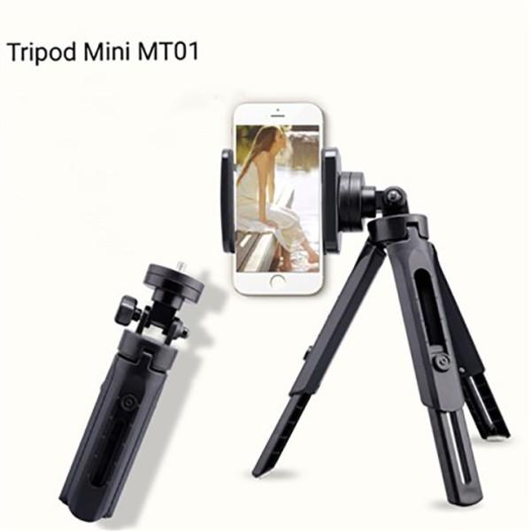 [Tặng kẹp ĐT] Giá đỡ điện thoại 3 chân MiniTripod MT-01- Giá đỡ hợp kim hỗ trợ  quay vlog livestream tại nhà và văn phòng