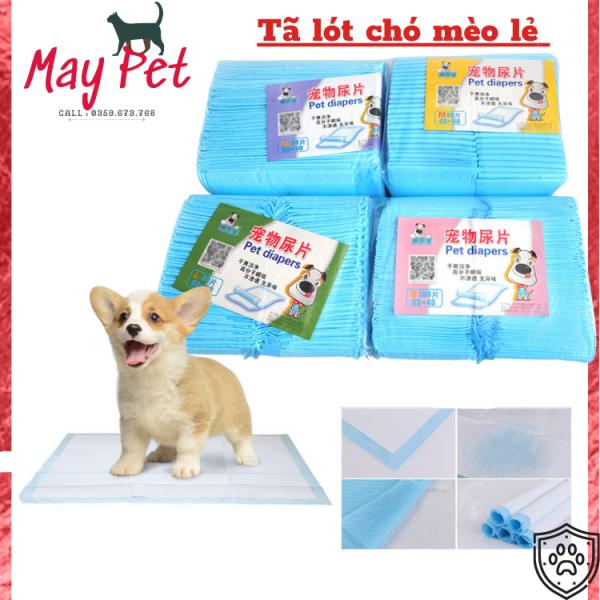 Tấm lót khay vệ sinh cho chó, tã lót chuồng cho chó, tấm lót vệ sinh chó size sạch sẽ, tiện dụng cho gia đình nuôi cún trong nhà - May Pet
