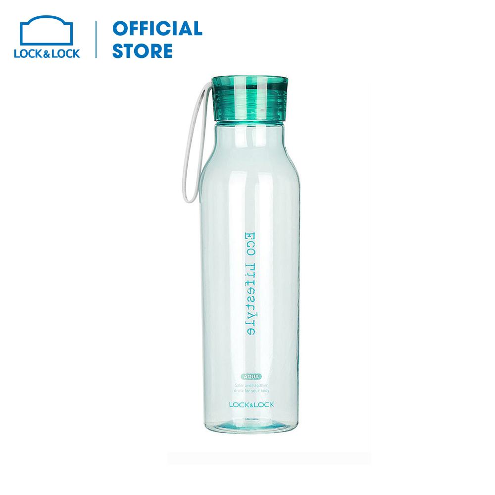ABF644GRN - Bình đựng nước 550ml Lock&Lock Eco Bottle (xanh lá). Thiết kế đẹp mắt chất liệu nhựa cao cấp an toàn. Hàng chính hãng