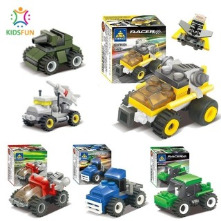 Đồ chơi trẻ em xếp hình lego city cao cấp xếp hình lắp ráp các loại xe ô tô từ 27 đến 32 chi tiết nhựa abs cao cấp cho bé từ 4 tuổi trở lên thumbnail