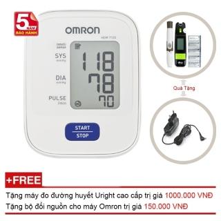 Máy Đo Huyết Áp Bắp Tay Omron Hem-7120 Tặng Bộ Đổi Nguồn Máy đo đường huyết TD-4265 thumbnail