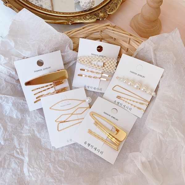 [inbox chọn mẫu] set kẹp tóc quảng châu sản phẩm tốt chất lượng cao cam kết như hình độ bền cao