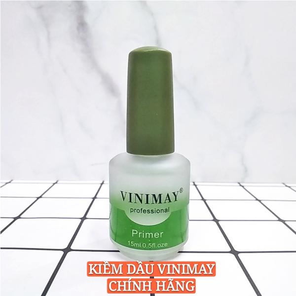Kiềm dầu Vinimay chính hãng - Primer chuyên dụng cho dân làm móng giúp sơn gel bền và bám lâu hơn