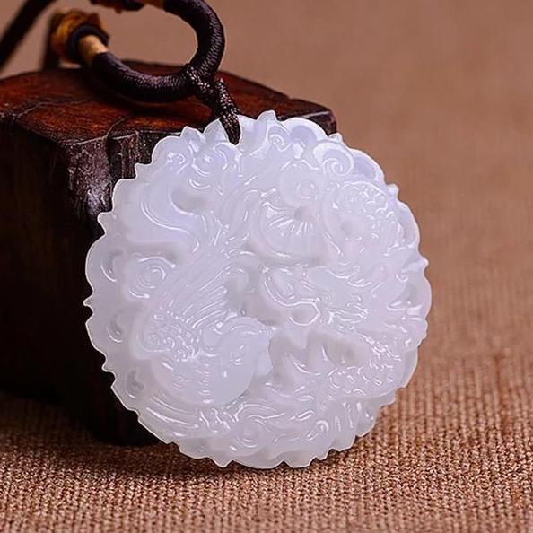 Mua Ngọc Bội Long Phượng Phong Thuỷ - Ngọc Bội Cổ Trang Trung Quốc