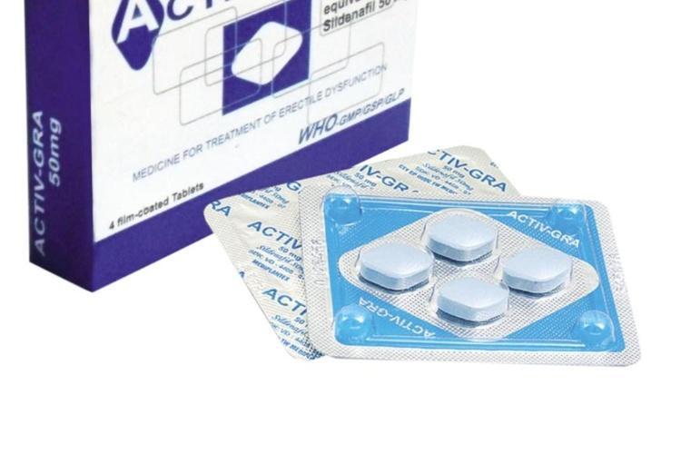 Thuốc cường dương Activ - gra (Hộp 4 viên)