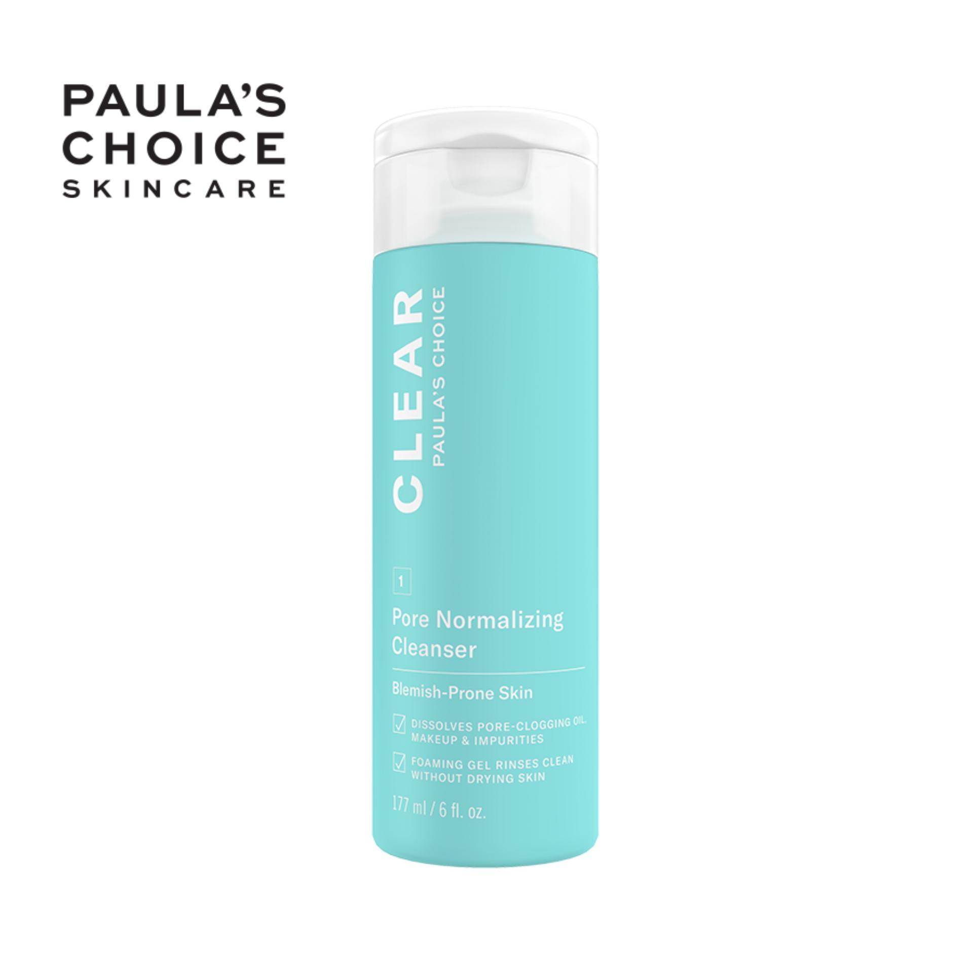 Sữa rửa mặt ngăn ngừa mụn và se khít lỗ chân lông Paula's Choice Clear Pore Normalizing Cleanser 177 ml cao cấp