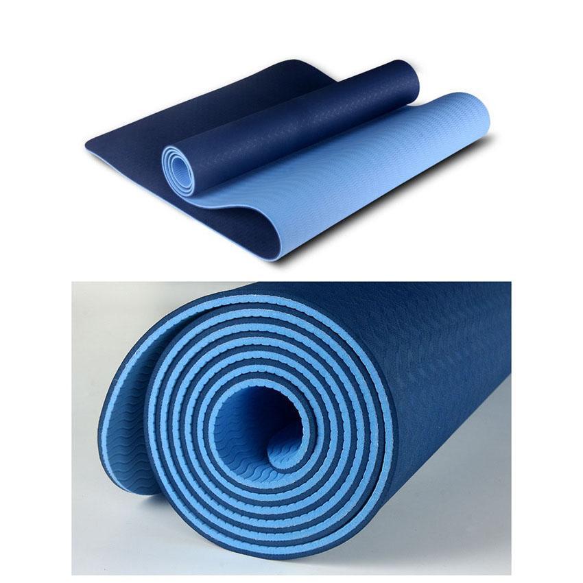 Lazada Ưu Đãi Khi Mua Thảm Tập Gym Và Yoga TPE 2 Lớp Eco Friendly đủ Màu - Shoptuankiet