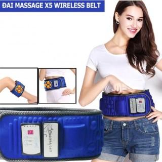 Đai Massage X5TM - 100% An Toàn, Hiệu Quả Cao.Đai Massage X5TM - 100% Nhập Khẩu Chính Hãng. Đai Massage X5TM - Kết Hợp Rung Và Nhiệt Giảm Mỡ.Đai massage x5 - Bảo hành miễn phí 6 Tháng thumbnail