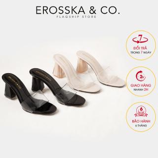 De p cao gót quai trong Erosska thời trang mu i vuông gót trong cao 9cm EM040 thumbnail