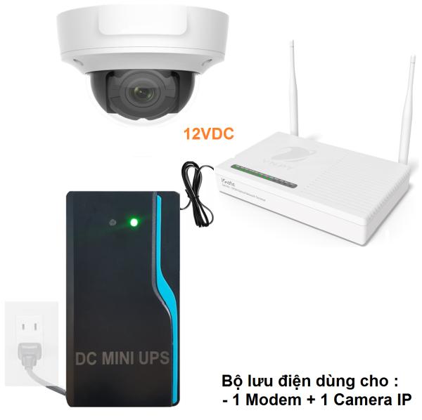 Bảng giá Bộ lưu điện - DC Mini UPS TVI-MU12V Phong Vũ