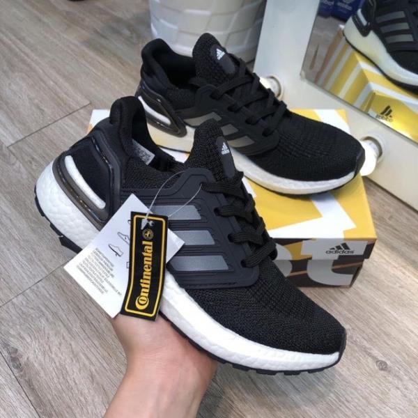 Giày Thể Thao Nam Adidas Ultra boost 6.0 Chính Hãng Trắng Đen -- Sneaker 2021 - giày thể thao chuyên chạy bộ tập thể thao - đi chơi - đi làm
