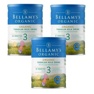 3 lon Sữa Bellamy s Organic công thức số 3 (bé từ 12-36 tháng) - 900gram thumbnail