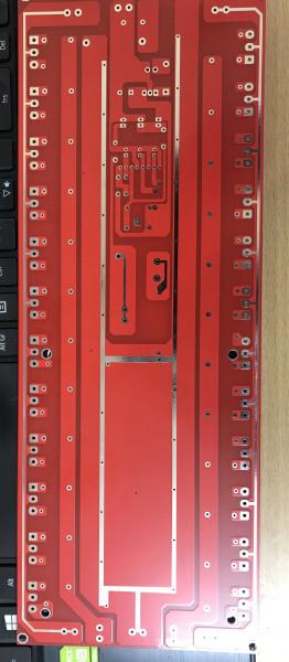 Giá PCB gắn 24 sò liền raly bảo vệ
