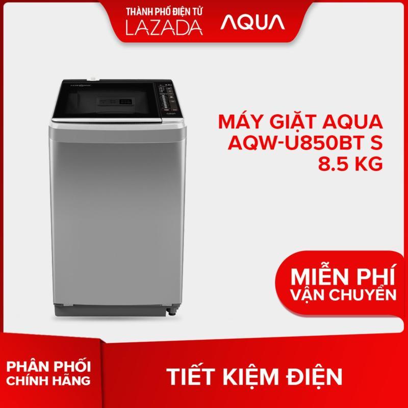 Máy giặt Aqua AQW-U850BT S 8.5 kg - Hàng phân phối chính hãng