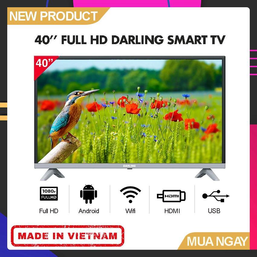Bảng giá Smart TV Darling 40 inch Full HD - Model 40FH960S (Hệ điều hành Android, Tích hợp DVB-T2, Wifi) - Bảo Hành 2 Năm