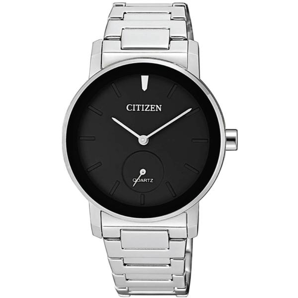 [HCM]Đồng hồ Nữ Citizen EQ9060-53E Mặt đen dây kim loại kính cứng - Máy pin