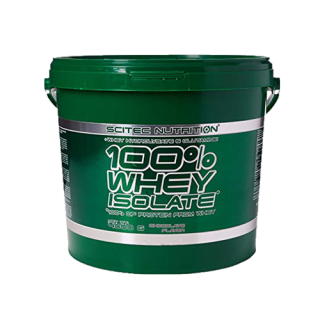 100% WHEY PROTEIN ISOLATE 4000g - SCITEC NUTRITION thumbnail