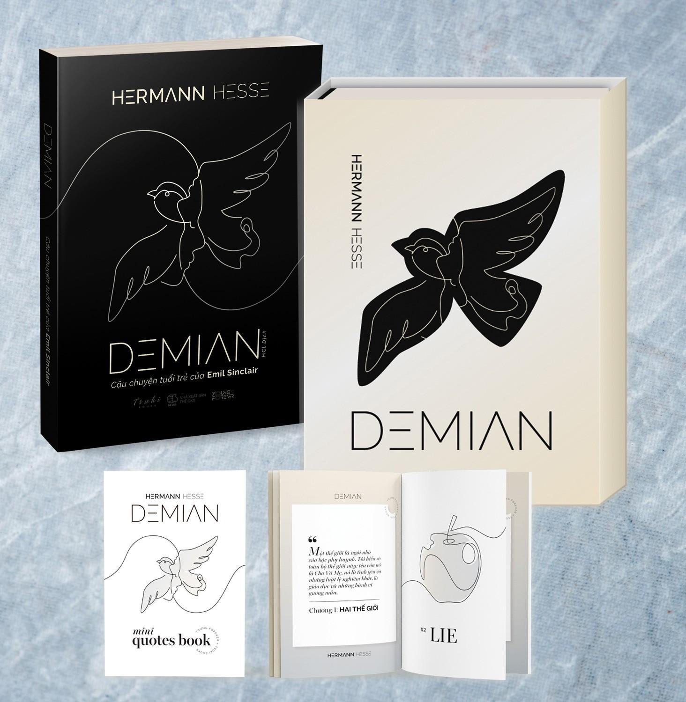 Mua Demian: Câu Chuyện Tuổi Trẻ Của Emil Sinclair (Bản đặt biệt - Tặng Kèm Vỏ Bọc Sách + Booklet Quotes Demian)