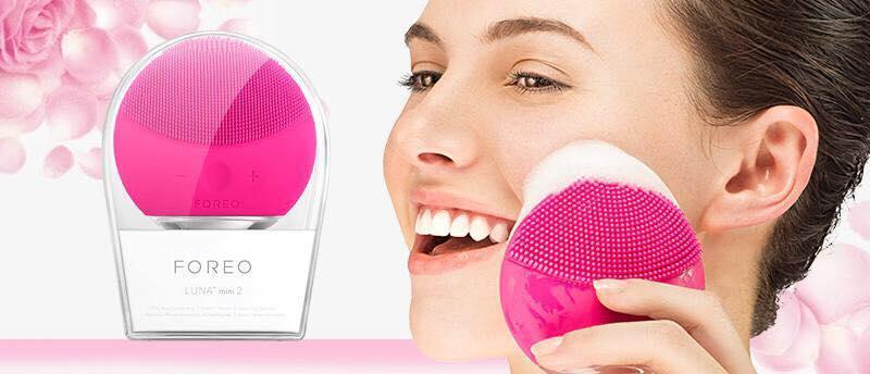 Máy Rửa.Mặt Rung Sóng Âm Mini Cầm Tay Siêu Sạch - Máy Massage Mặt Sạch Sâu
