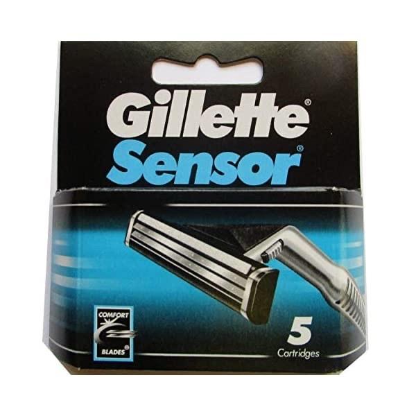 Lưỡi dao cạo râu Gillette Sensor Excel (1 hộp/ 5 cái)