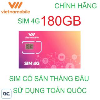 Sim 4G vietnamobile mỗi ngày 6GB có sẵn tháng đầu thumbnail