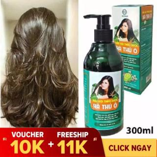 [CÓ QUÀ TẶNG KÈM] Dầu Gội Thảo Dược Hà Thủ Ô 300ml kích thích mọc tóc, giảm rụng tóc thumbnail