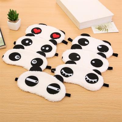 gấu panda bịt mắt Tấm Bịt Mắt Ngủ Hình Gấu Panda